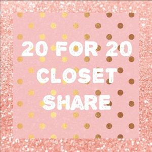 Closet Share 20 for 20